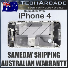 iPhone 4 4G Metal Bezel Mid Frame Silver Middle Chassis Housing Parts Components