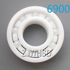 6900 Full Ceramic Zirconia Oxide Bearing ZrO2 10x 22x 6mm 61900 Self-lubricating