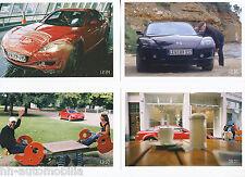 Materiale pubblicitario MAZDA rx-8 bilderset 2005 12 immagini lati posteriori stampati AUTO AUTOMOBILI