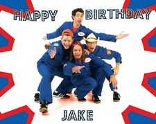 Imagination Movers Premium Frosting Sheet Cake Topper FREE Personalization