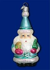 JULESVENN NORWEGIAN NORWAY SANTA CLAUS OLD WORLD CHRISTMAS GLASS ORNAMENT 40236