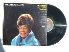 Ella Fitzgerald'S Brighten The Corner vinyl Lp Capitol St 2685 14 tracks