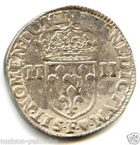 LOUIS XIII 1/4 D'ECU ARGENT 1642 F ANGERS !!!!!!!!
