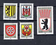 Briefmarken postfrisch DDR 1983 Michel-Nr.: 2817-2821