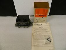 NOS GM Delco 40 amp Voltage Regulator D627 1960-61 Chevrolet & 1957 Cadillac AC