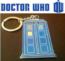 *NEW* Dr Doctor Who TARDIS Diecast Metal Keyring - Key Ring Keychain
