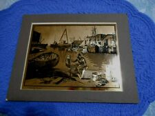 Lionel Barrymore Gold Foil Art Print Purdy Basin Matted