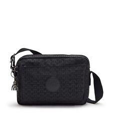 Kipling Medium Crossbody Bag ABANU M in SIGNATURE EMB FW21 RRP £87