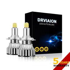 H7 LED Headlight Mini 8-Side CSP Fog Lights Bulbs Kit 2200W 480000LM 6000K Lamps