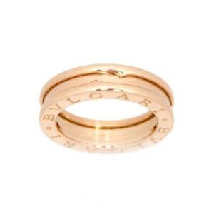 BVLGARI B-zero1 Ring 18K PG Pink Gold 750 size46 3.75(US) 90122653