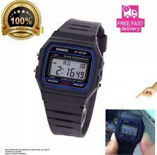NEW CONDITION GENUINE  Casio F-91W-1YER  Stopwatch Alarm Classic Black Watch