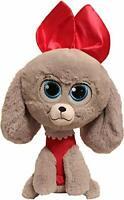 """Secret Life Of Pets 2 Pups - 25cm 10"""" - Soft Plush Poodle - Princess"""