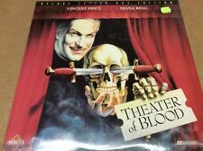 Theater of Blood Laserdisc LD Letterbox Vincent Price SEALED BRAND NEW