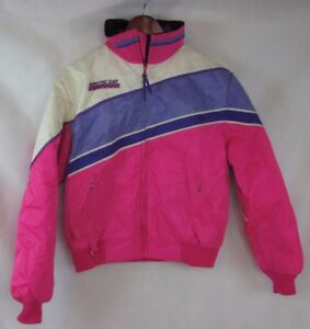 Vintage 2 in 1 Pink ARCTICWEAR Thinsulate ARCTIC CAT Snowmobile Coat Womens L