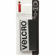 """VELCRO Brand Industrial Strength Tape 4""""X2"""" 2/Pkg-Black -90199"""