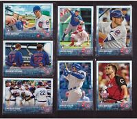 2015 CHICAGO CUBS Team Set Series 1 & 2 w/ updates Topps 36 cards BRYANT RC