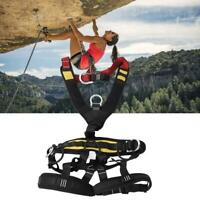 Aerial Work Rock Climbing Rescue Full Body Safety Belt Adjustable Harness Safety