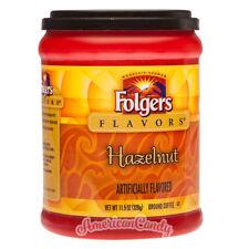 Neuf : 5x 326g Folgers Flavors Café Noisette USA ( 42,94€/ kg)