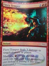 mtg fiery temper promo foil DCI VO mint
