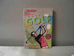 Bandai Golf: Challenge Pebble Beach (Nintendo Entertainment System, 1989)