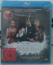 BLOOD FEAST (2016) (Remake, Blu Ray, New & Sealed, Gory Horror, Special Edition)