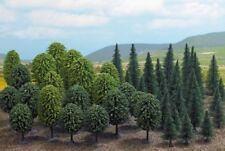 Busch 6491 HO (1/87e): Gemengd Woud, 50 bomen