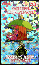 Disney Alice Cheshire Cat Main Street Electrical Parade Mushroom Float AP Le Pin
