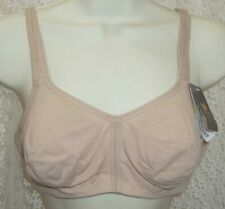 Wacoal Casual Beauty Wire Free Bra 852247 soft breathable comfort 40B Toast New!