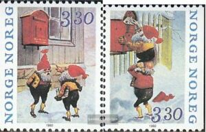 Norway 1112-1113 (complete issue) unmounted mint / never hinged 1992 christmas