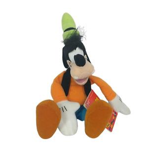 "Disney Mattel Goofy Mickey For Kids Bean Bag Plush Arco Toys Stuffed Animal 11"""