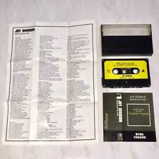Joy Division 1988 Substance Taiwan Edition Cassette Tape with Promo Insert