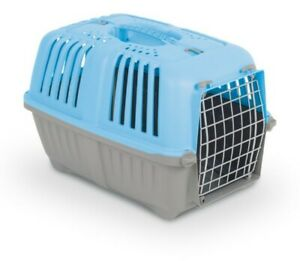 Transportbox Pratiko mit Metalltür für Katze Hund