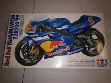 Tamiya Yamaha Yzr500 WCM 99 MOTOGP Red Bull 14076 Gary McCoy 1/12 Model Kit