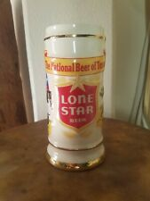 1987 Limited Edition Lone Star Beer Stein - Excellent Condition!