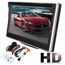 "5"" Digital TFT LCD Screen Rear View Monitor For Vehicle Car Reverse Camera VCR"