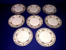 "8 Minton Persian Rose 8 1/8"" Salad Plates ~ Fine Bone China"