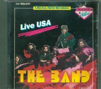 The Band - Live In Usa (Bob Dylan/Robbie Robertson) Cd Ottimo