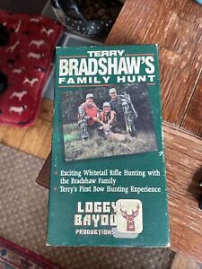 Loggy Bayou VHS Tape: Terry Bradshaw Family hunt 1992