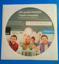 Das große FRANZIS Super-Lernpaket für alle Schularten von Klasse 5 - 13 Lern-DVD