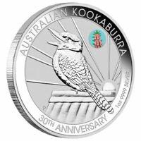 2020 ANDA Show Special Kookaburra 1oz $1 Silver Coin w/ PINK COMMON HEATH PRIVY