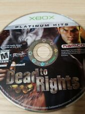 Dead to Rights (Microsoft Xbox) Disc Only, Tested, Fast Free Shipping!