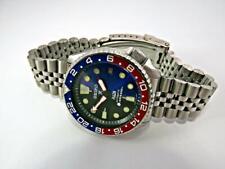 SEIKO DIVER AUTOMATIC, BLACK/BLUE PADI/PROSPEX,  PEPSI GMT Custom 7002-7000 Date