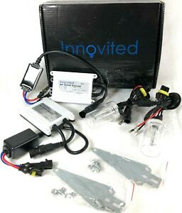 Innovited 55W AC HID bundle with 1 Pair Slim Ballast and 1 Pair Xenon bulb H1...