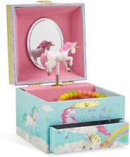 Jewelkeeper Spieluhr Schmuckschatulle Ballerina mit Ausziehfach Unicorn Melodie