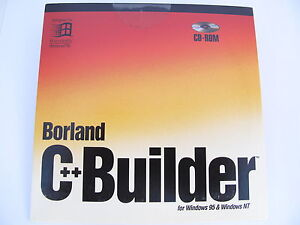 Borland C++ Builder Windows 95 / NT Scalable Database NEW BOR9824 CPC1310WW10180