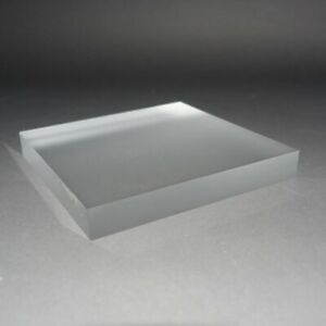 Clear Frosted Acrylic Display Blocks - Jewellery - Watches - Collectibles