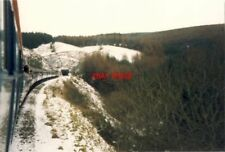 PHOTO  SUGAR LOAF TUNNEL 25.2.89  A SUITABLY BLEAK AND WINTRY SCENE AS THE CLASS
