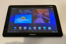 Samsung Galaxy Tab SCH-I905 16GB, Wi-Fi + 4G (Verizon), 10.1in - Metallic Gray