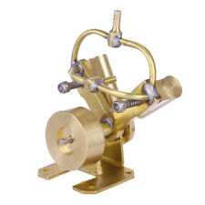 Mini Pure Copper Double Cylinder Steam Engine Model Toy Creative Gift
