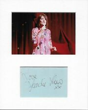 Eurovision Song Contest Puppet On A String Sandie Shaw Genuine Hand Signed AFTAL